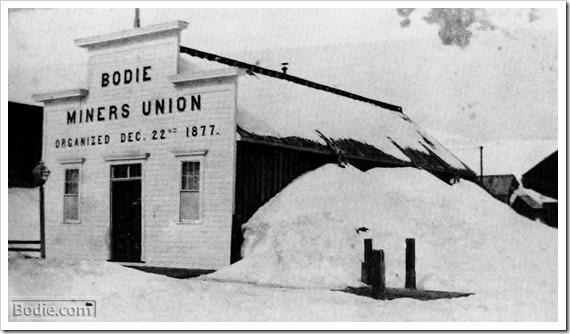 Bodie Miners Union Hall | Bodie.com