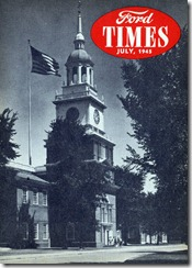 Ford Times - July 1945