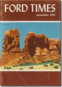 Ford Times - November 1951 - cover