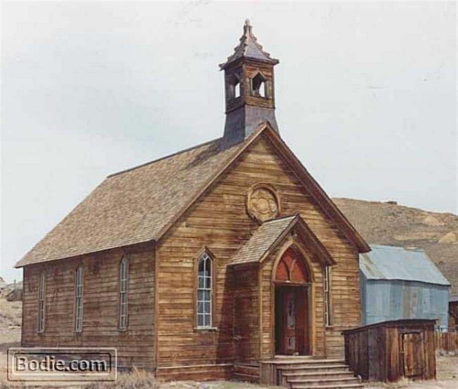 Methodist Church - 1991 | Bodie.com