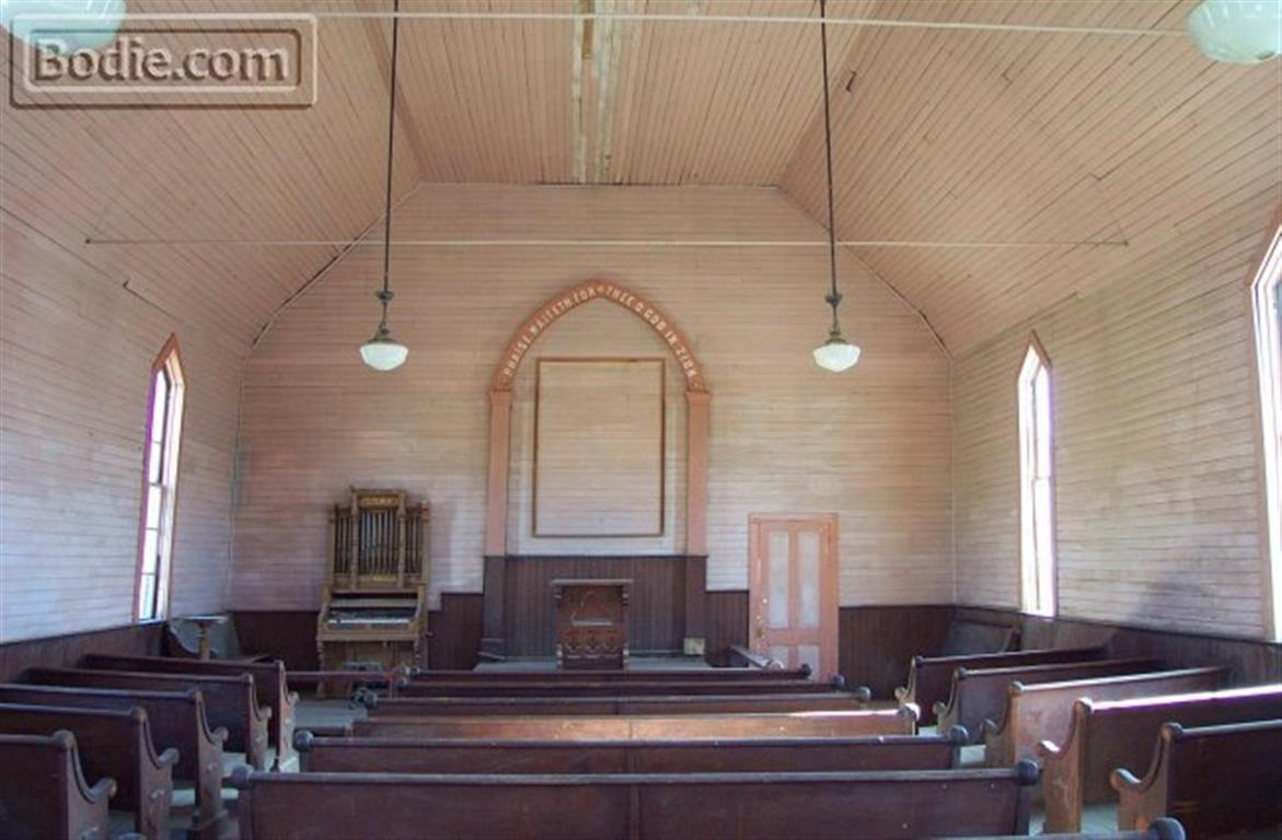 Methodist Church - Interior | Bodie.com