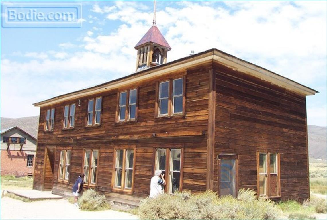 Bodie School house - exterior | Bodie.com