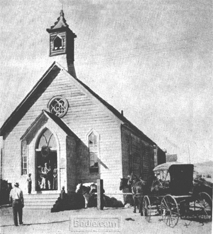 Methodist Church - 1889 | Bodie.com