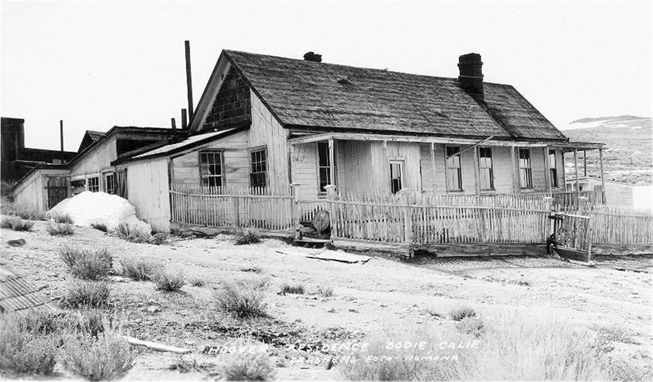 Hoover House - 1900's | Bodie.com