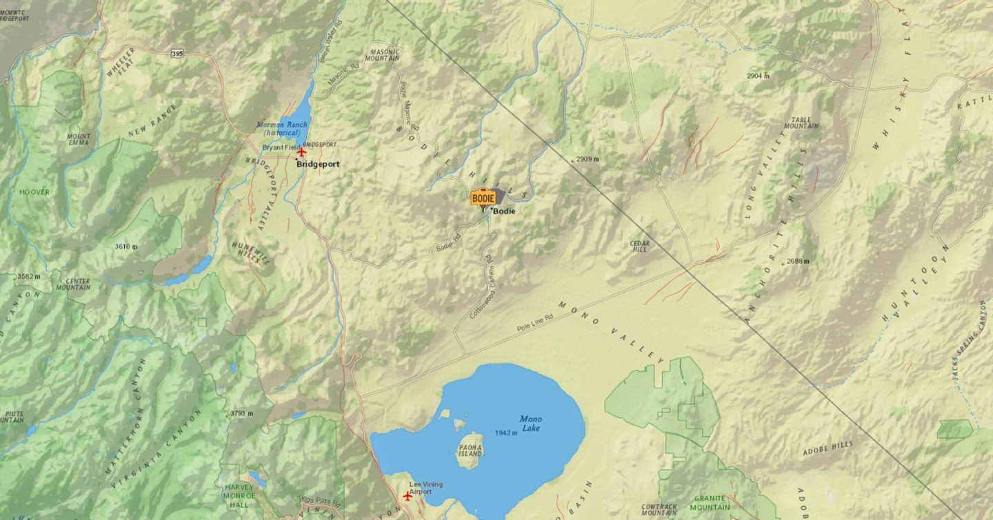 USGS Earthquake Map | Bodie.com