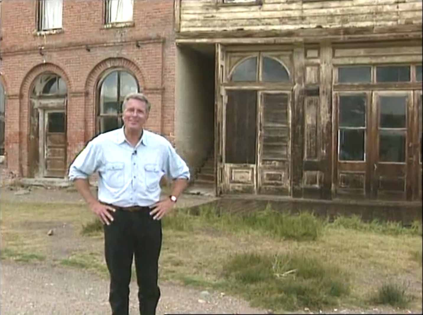 Huell Howser in Bodie | Bodie.com