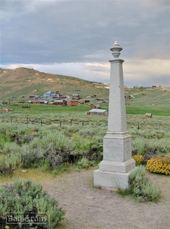 Monument to President James Garfield | Bodie.com