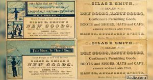 May 1, 1877 - Silas Smith opened his first store   Bodie.com